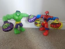 Playskool Spiderman Marvel Hulk Smash & sonidos de acción de eslinga 10 in (approx. 25.40 cm) figuras raras