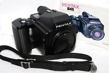 【EXC+++++】PENTAX 645 Medium Format Camera Body w/ 120 Film Back from JAPAN #158