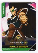figurina CARD DRAGON BALL Z SCONTRO FINALE numero 57 NESSUN EFFETTO