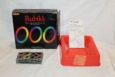 1986 Rubik's Magic Puzzle Matchbox Link the Rings Game Brainteaser Mind Vintage
