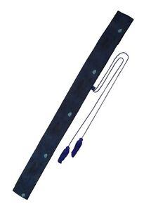 Hanwei Japanisch Schwerttasche Pfauenfeder 138cm Schwerthülle Schwert-Tasche
