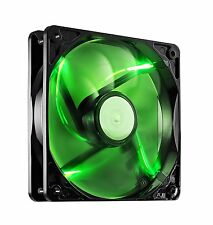3 X Pack De CoolerMaster SickleFlow 120mm Silent Case Fan LED verde