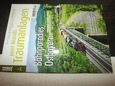 ** Eisenbahn journal 1 2014 Josef Brandls Traumanlagen  Bahnparadies Ostbayern