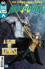 AQUAMAN #32 (2018) THE CROWN COMES DOWN, ABNETT, FEDERICI, DC, NM