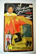 1984 MICHAEL JACKSON Doll Clothes Beat It Outfit MOC