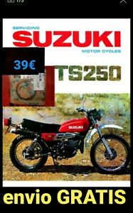 Juego de juntas Athena P400510600263 para Suzuki TS 250 1971/1975