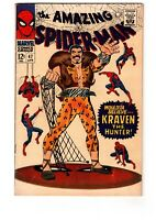 Amazing Spider-Man 47 FN 6.0 * 1 Book Lot * In the hands of Kraven the Hunter!