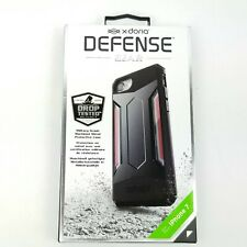 X-Doria Defense Gear iPhone 7 8 Black Red 3X170305A Free Shipping