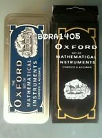 THE OXFORD SET OF MATHEMATICAL INSTRUMENTS |Geometry Set With Tin Case|