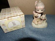 """New ListingPrecious Moments Figurine """"O How I Love Jesus"""" Original 21 No Mark w/box E1380B"""