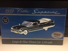 PRECISION MINIATURES 1:18 DIE-CAST 1959 CADILLAC SUPERIOR FLOWER CAR