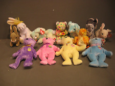 Beanie Babies Spring/Easter Bears and Animal Lot