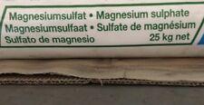 SULFATE DE MAGNESIE  TECHNIQUE , MAGNESIUM SULPHATE, POT DE 500 GRAMMES