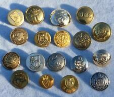 GOOD COLLECTION OF SCHOOL COLLEGE UNIVERSITY LIVERY BUTTONS - LOT 29