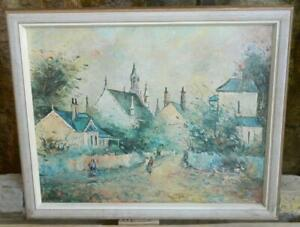 """VINTAGE """"Sunday Morning Walk"""" Print by Artist Wilmotte Williams No. 546"""