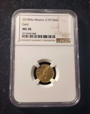 2018 Mexico 1/10 oz Gold Libertad MS70 NGC Top Pop Only 3 in MS70