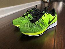 2012 Nike Flyknit Trainer Volt Black 532984-700 Size 9 OG