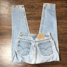 Vintage LEVIS 921 SLIM Tapered Mom Jeans Women's 14 MED Orange Tab (30x30)