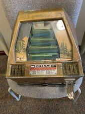 Vintage Pikes Peak Trade Simulator! Works! Free Ship!
