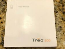 Palm One Treo 600 User Manual Smartphone Book Instructions