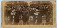 King receiving Sword Temple Bar London Stereoview Photo 1902 Royalty