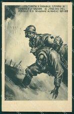 Militari Corpo Sanitario Ospedale Militare Pisani cartolina XF3683