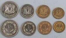Libyen / Libya 5 1 50 100 Dirhams 1979 Unc Satz Aus 6 Münzen 10 20
