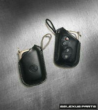 OEM Key Fob Glove SmartAccess Keyless Entry Case 2 Button Leather Set for Lexus