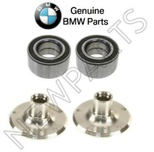 BMW E90 E91 E92 E93 Set of Left and Right Rear Wheel Hubs with Bearings Genuine