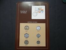 Coins Sets of All Nations India Franklin Mint