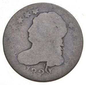 1827 Capped Bust Dime - Walker Coin Collection *993