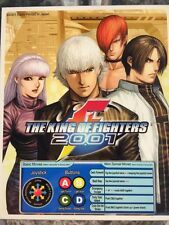 The King Of Fighters 2001 Neo Geo Arcade Marquee
