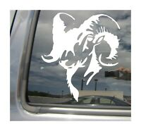 Bighorn Sheep - Horn Ram Hunting - Auto Window Quality Vinyl Decal Sticker 01075