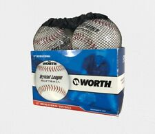 Worth 12' Recreational Official League Softball 4 Pack