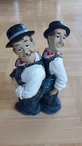 Dick und Doof Figuren Laurel und Hardy Höhe 16cm