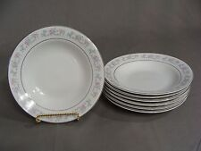 7 Dynasty Fine China Soup Bowls In The Rapture #2002-3 Pattern