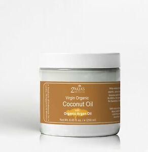 Organic Coconut Oil with Argan Oil - 100% pure, virgin organic grade