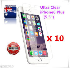 """Free Post 10 x Ultra Clear Screen Protector For Apple® iPhone  6+ Plus (5.5"""")"""