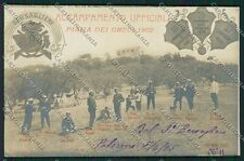 Palermo Piana dei Greci Bersaglieri Foto cartolina QQ0604