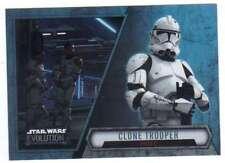 Chewbacca Kashyyx Warrior #55 Star Wars Evolution 2016 Topps Trade Card C1984