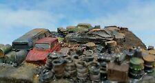 New High detailed scrapyard resin casting  By R&M suit HO OO gauge unpainted