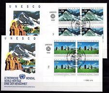 United Nations / Geneva office - 1992 Unesco cultural heritage Mi. 210-11 FDC-Bl