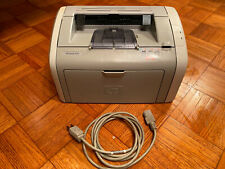 Used HP LaserJet 1020 Monochrome Workgroup Laser Printer *Great Tested Working*