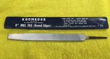 Vintage Craftsman No. 9 3128 Kromedge 8 Inch Mill File Made In Finland In Case