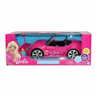 Barbie RC Car Convertible Remote Control+Lights Toy Vehicle Gift Girls 2.4GHz LF