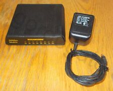Boca Bocamodem 2400 Baud External Serial RS232 Modem w/ AC Adapter M0024E