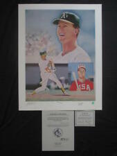 """Phil Hanks """"Mark McGwire"""" Signed Auto 22x28  Limited Edition Lithograph 706/1000"""