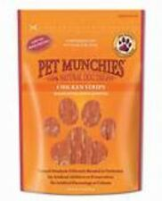 Pet Munchies Chicken Strips ~ 4 x Packs (100g/Pack) ~ 100% Natural Dog Treats