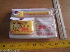 SANRIO 1976 Hello Kitty Wash Up Set w/towel toothbrush Japan VINTAGE RARE