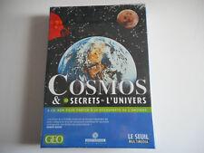 2 CD-ROM PC MAC NEUF - COSMOS & SECRETS DE L'UNIVERS - GEO